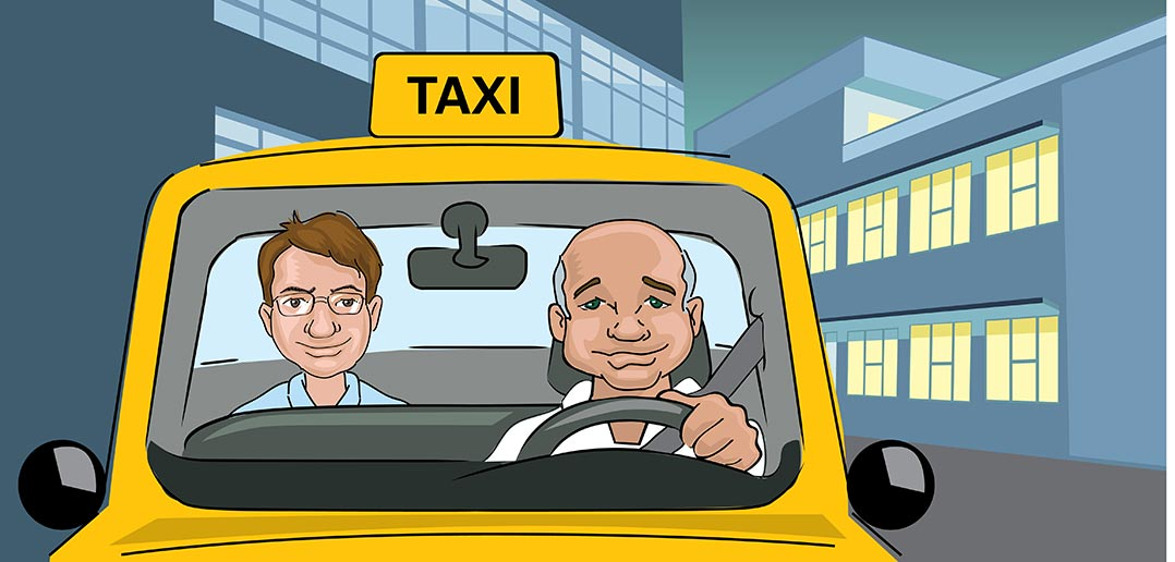 tip cab drivers in uk